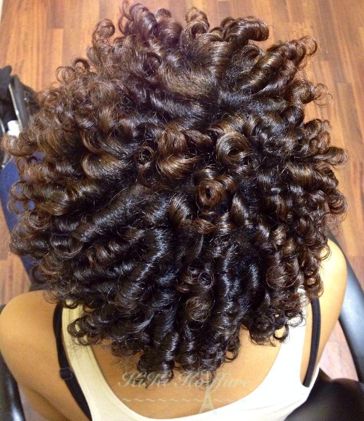 Perm Rod Curls Natural Hair Pinterest Colors Curls