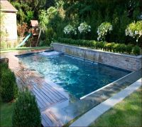 Small Inground Pools For Small Yards | Small Pools | Pinterest