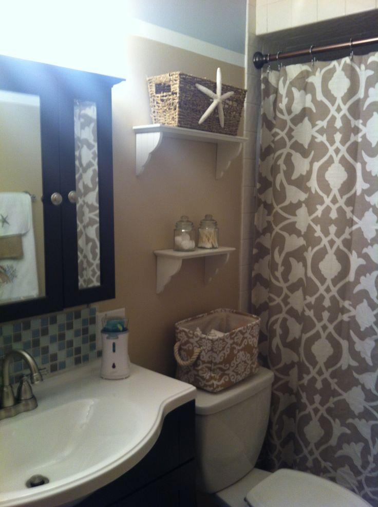 Beach theme bathroom  Home decor ideas  Pinterest  Jars