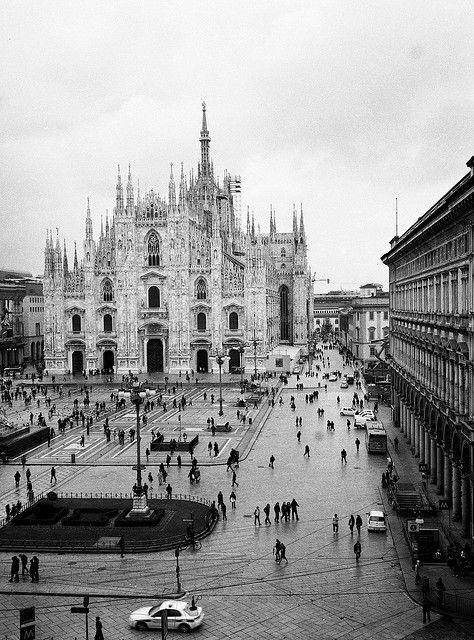 17 Best images about Il Duomo di Milano in bianco e nero