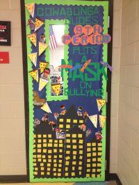 Ninja Turtles anti bullying classroom door! 'My creation ...