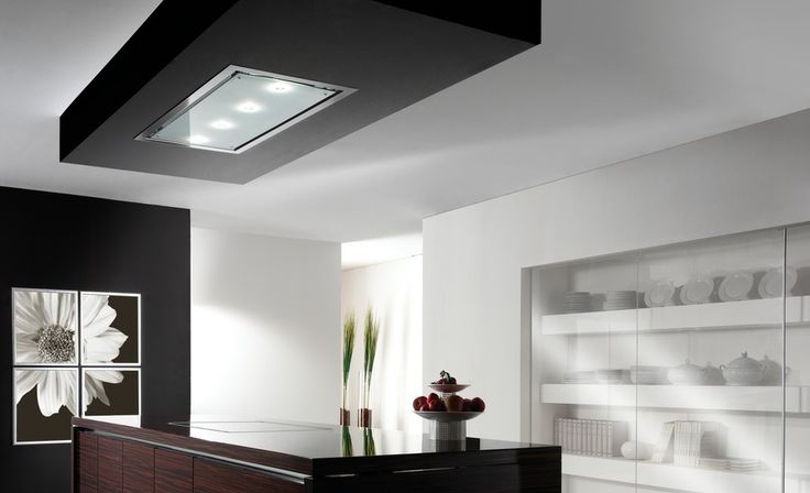 Typical concealed Flush ceiling extractor by Air Uno