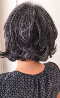 pictures of salt and pepper hair for women tips for salt ...