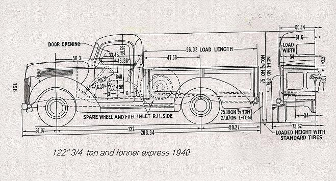 1940 chevy cab over trucks