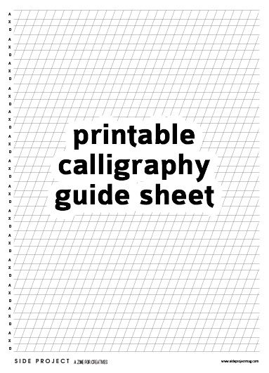 25+ best ideas about Modern calligraphy tutorial on