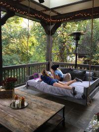 Best 20+ Outdoor Swing Beds ideas on Pinterest   Outdoor ...