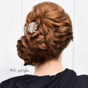 great updos maid of honor