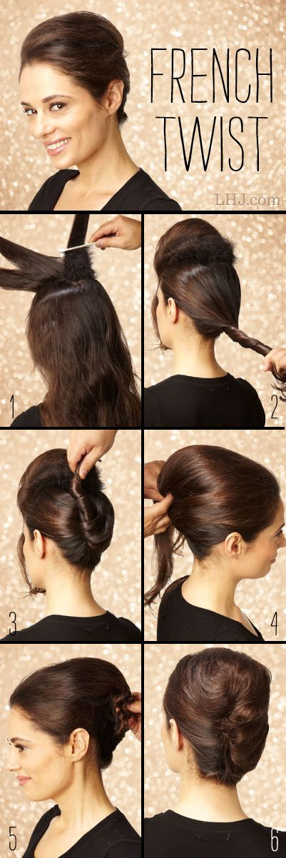 25 Best Ideas About French Twist Tutorial On Pinterest Easy