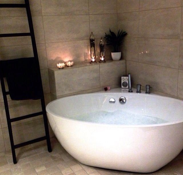 25 best ideas about Corner bathtub on Pinterest  Corner tub Corner bath and Small corner bath