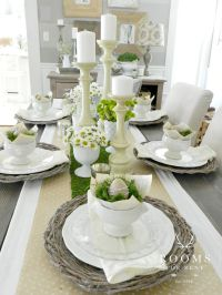 17+ best ideas about Easter Table Decorations on Pinterest ...