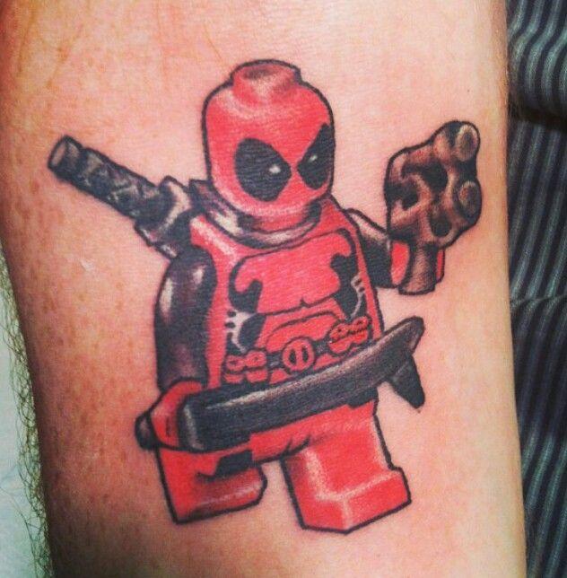 Lego Deadpool Tattoo Badass Lego Pinterest Deadpool