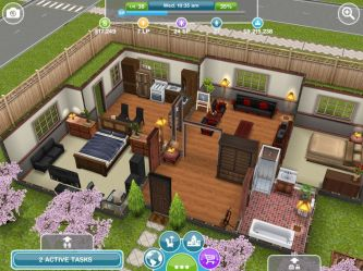 simple sims houses freeplay sim plans play floor layouts building kitchen cc simsfreeplay mobile modern 3rd related