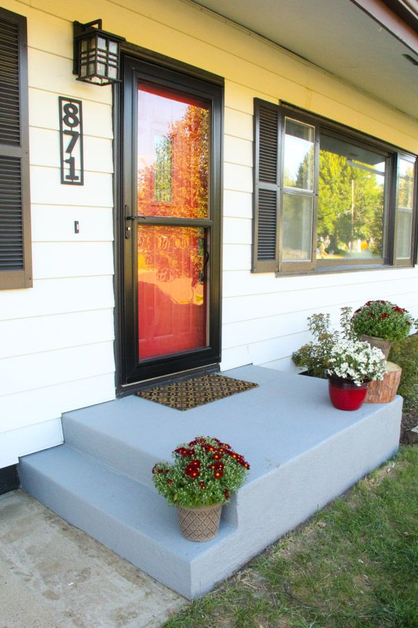 Top 25 best Painted concrete porch ideas on Pinterest