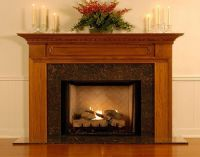 Modern Wood Fireplace Mantel Decor ~ http://lanewstalk.com ...