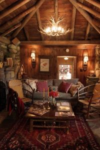 Best 20+ Rustic cabin decor ideas on Pinterest | Barn ...