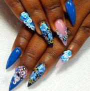ideas stiletto nail