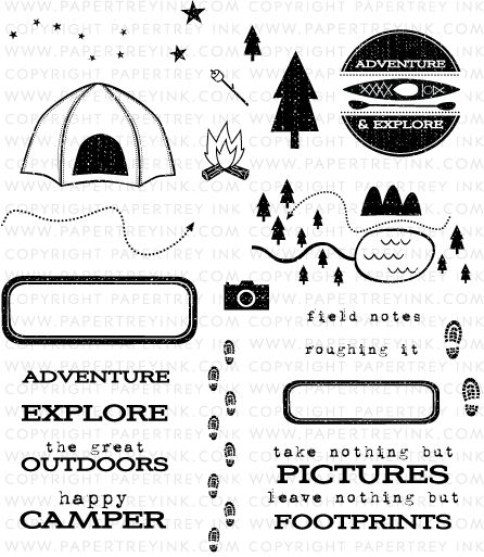 10+ images about camping digital stamps on Pinterest