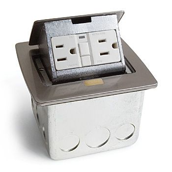 kitchen power grommet pottery barn kitchens pop-up gfi electrical outlet for countertop | things i ...