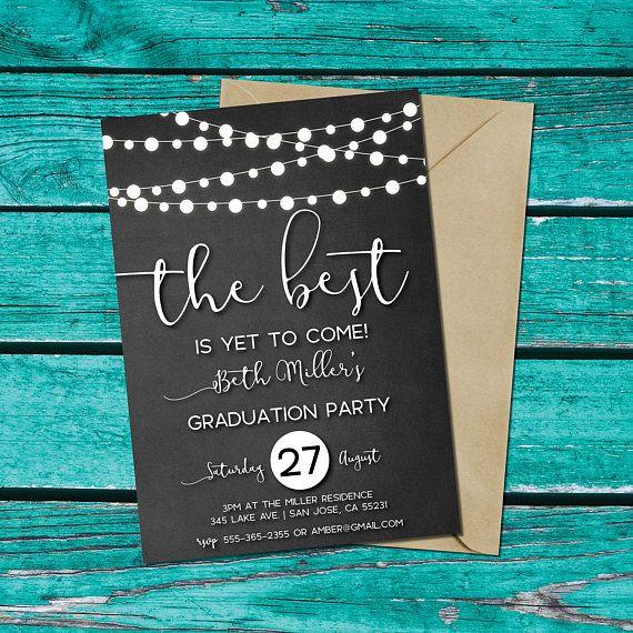 Design And Print Graduation Party Invitations