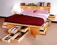 Creative Under Sink Storage Ideas   Creative, Simple bed ...