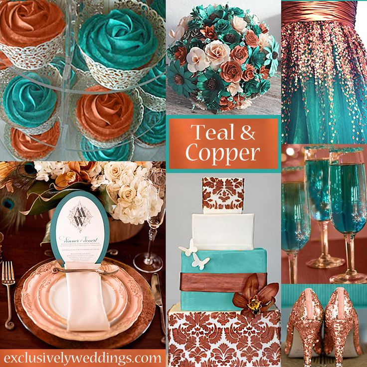 10 Awesome Wedding Colors You Havent Thought Of  Copper