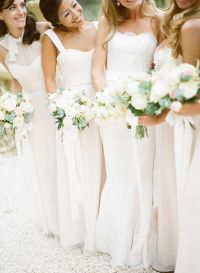 17 Best ideas about White Bridesmaid Dresses on Pinterest ...