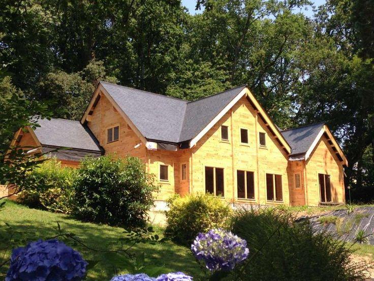 Maison Bois Greenlife. De La Maison En Bois En Kit Louisa With ...