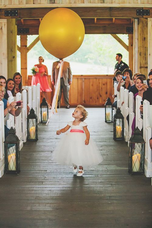 Brides: 6 Things Your Flower Girl Can Carry Down the Aisle Besides Petals:
