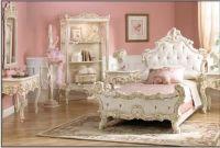 Pretty victorian style pink bedroomLittle Girls, Bedrooms ...
