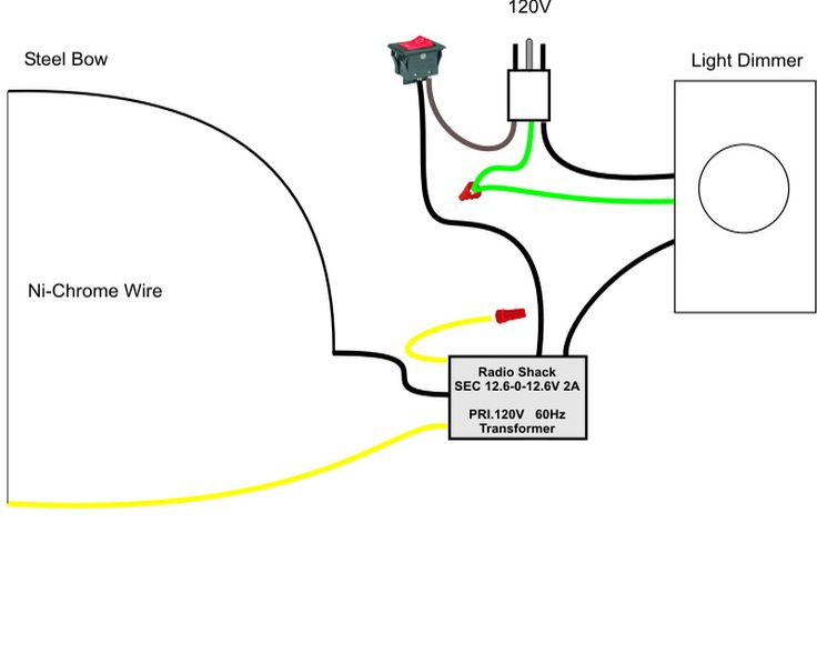 Pictoral guide to a home-made hot wire foam cutter