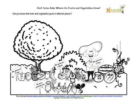 41 best images about Nutrition Coloring Pages on Pinterest