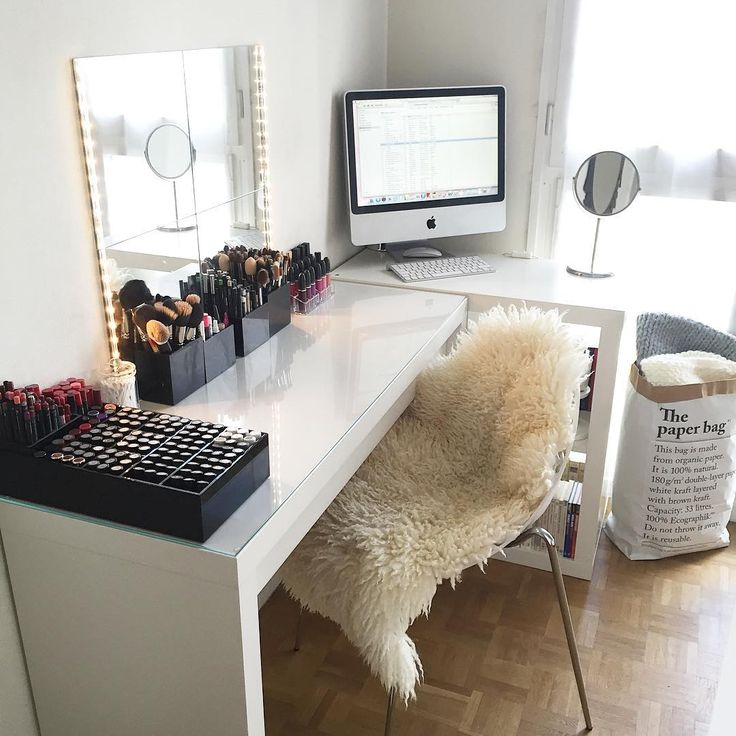 25 best ideas about Makeup vanity desk on Pinterest