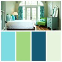 Master Bedroom: Blue and Green Color Palette   Color ...