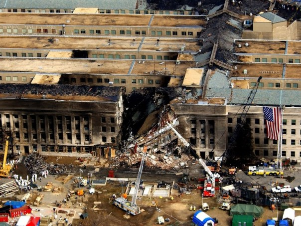The Pentagon on September 11, 2001. A date that lives in infamy.: