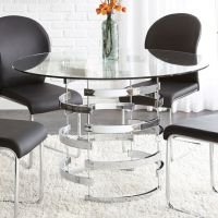 17 Best ideas about Glass Top Dining Table on Pinterest ...