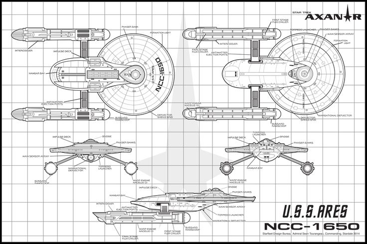 12 best images about Starships, Schematics and Drawings on