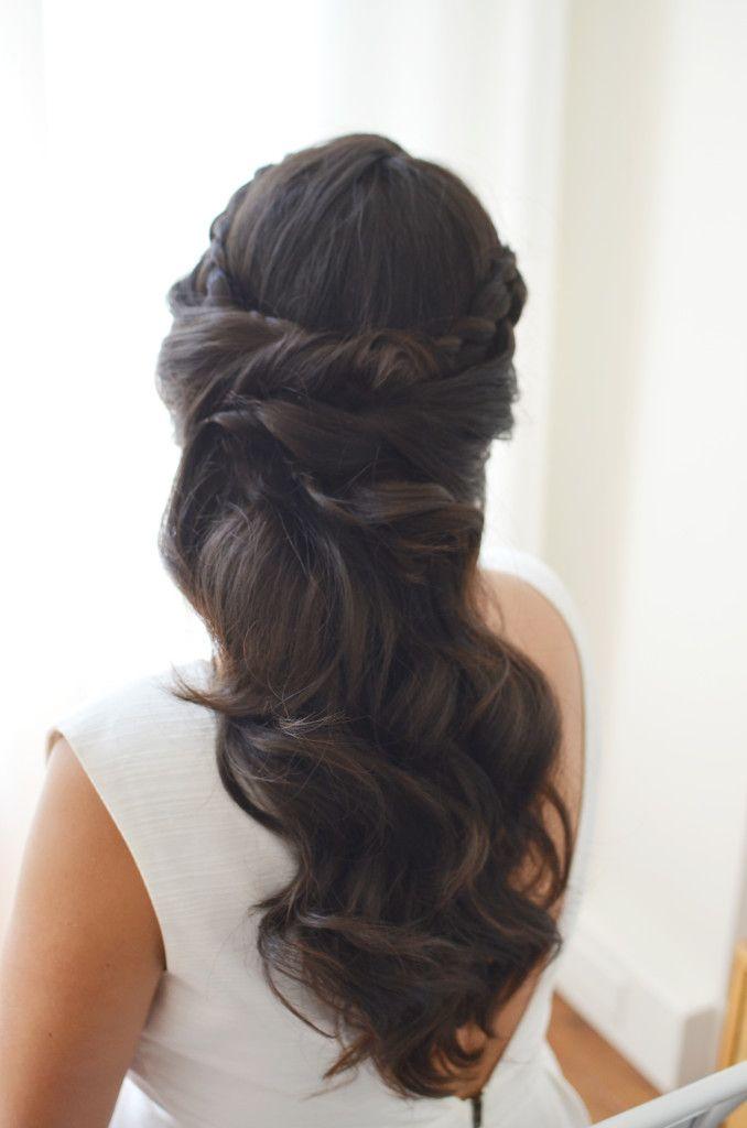25 Best Ideas About Wedding Hair Brunette On Pinterest Brunette