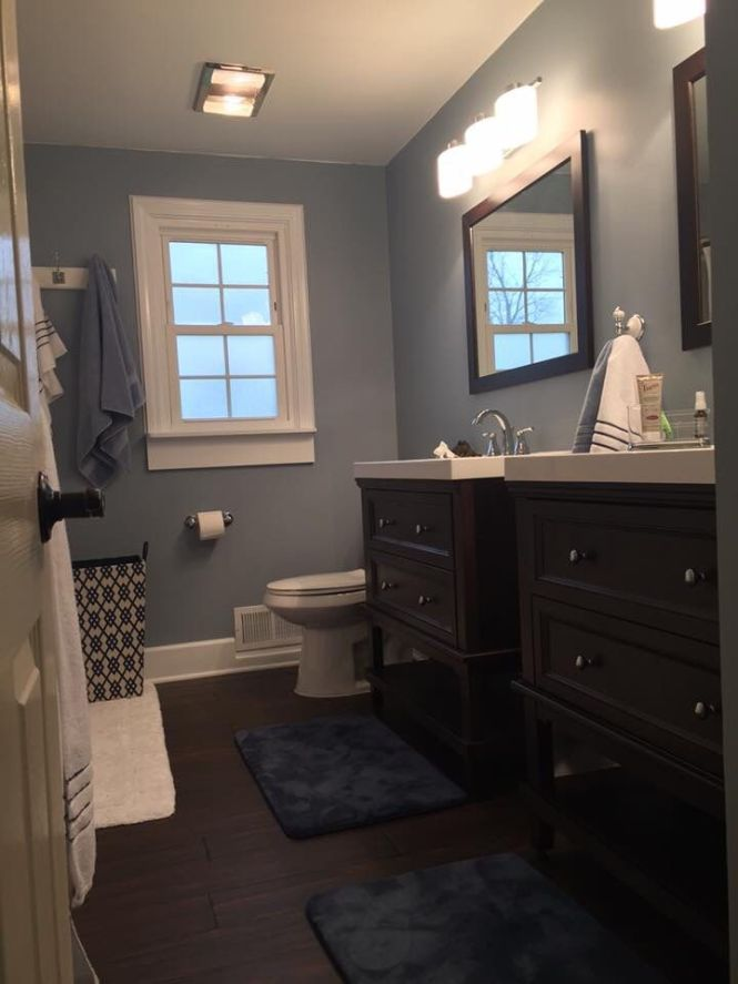 Love These Blue Gray Walls Paint Color Wall Ovation By Behr Marquee Eggs