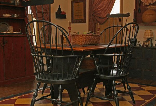 black farmhouse chairs contemporary rocking primitives -primitive country furniture-primitive painted furniture   for the home pinterest ...
