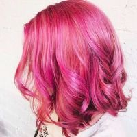 Best 25+ Hot pink hair ideas only on Pinterest | Bright ...