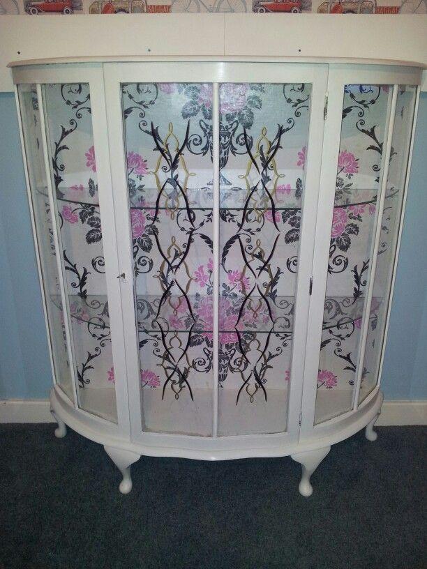 Gorgeous vintage upcycled china cabinet wwwfacebookcom