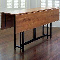 Drop Leaf Kitchen Tables For Small Spaces Menards Backsplash Tile Origami Rectangular Dining Table | Shops ...