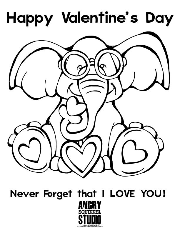 FREE COLORING PAGE! Never Forget! I Love You! Happy