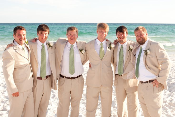 Groomsmen Attire Beach Wedding  Ideas for Laura