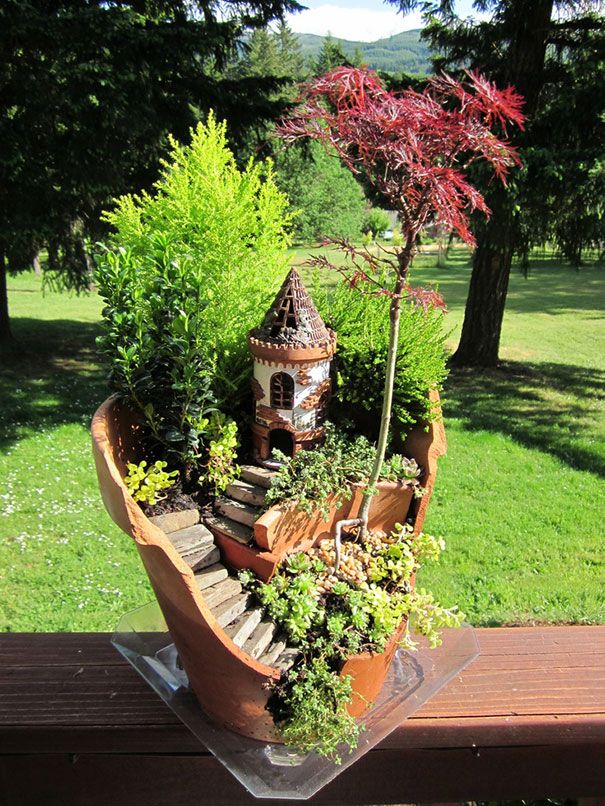 431 Best Images About Recycled Garden Ideas On Pinterest