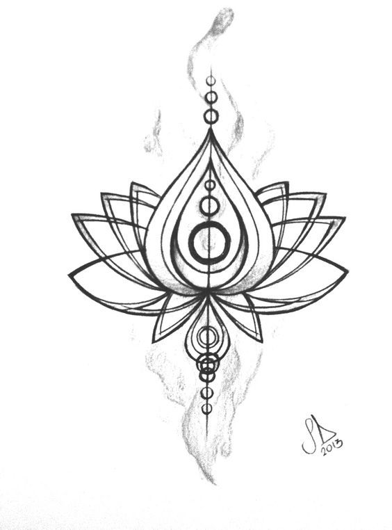 1000+ ideas about Lotus Flower Drawings on Pinterest
