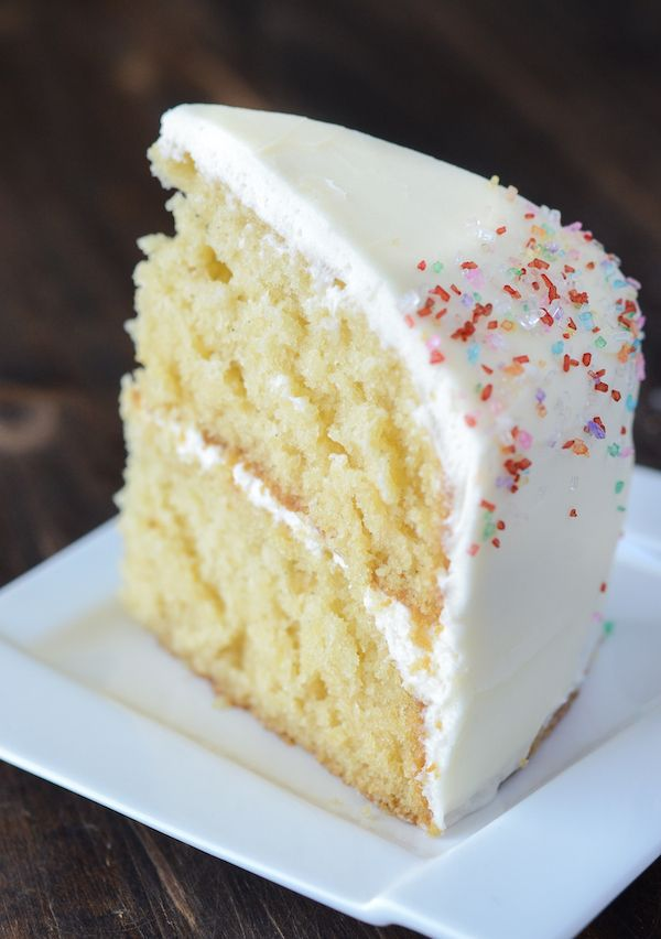 Vanilla Dream Cake ~ such a unique cake recipe; never seen one like this in vanilla version but lots of chocolate … must try