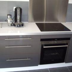 Ikea Kitchen Cabinet Handles Delta Faucets Parts Cuisine Faktum Abstrakt Gris #2 | ...