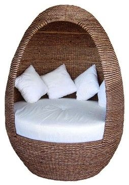 Igloo Outdoor Wicker Pod outdoor chairs  In the Garden