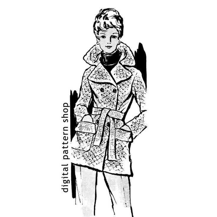 1000+ ideas about Crochet Jacket Pattern on Pinterest